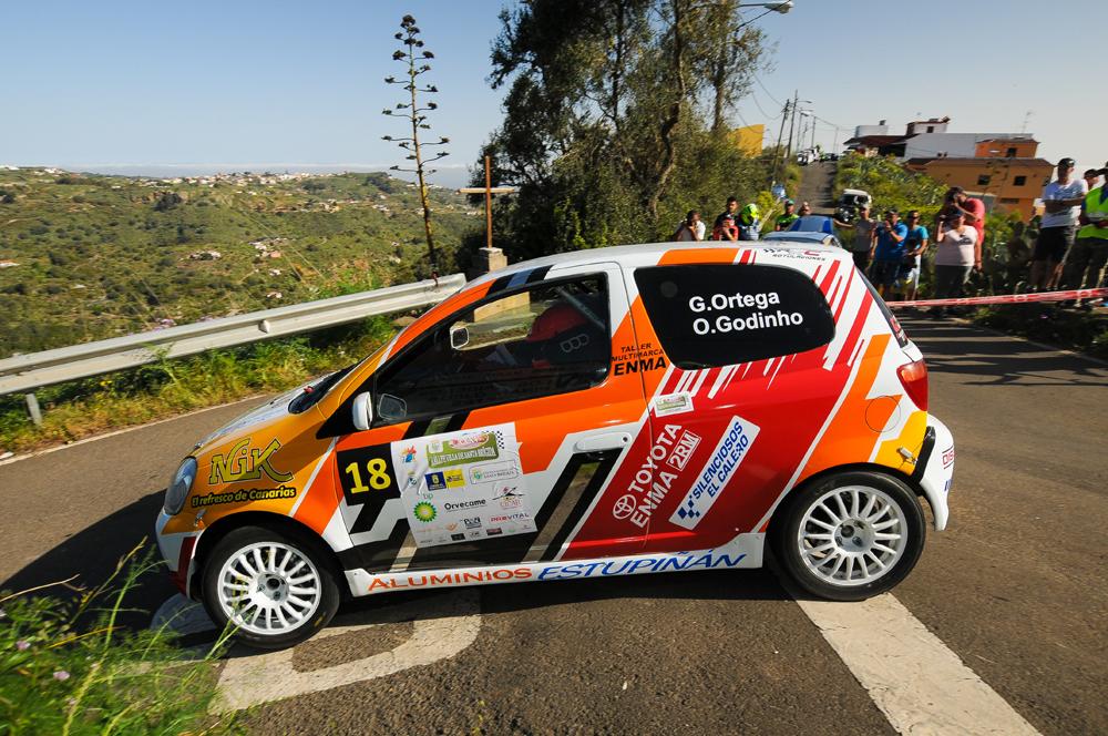 📌Complejo día para Ortega – Godinho en el Rallye Villa de Santa Brígida