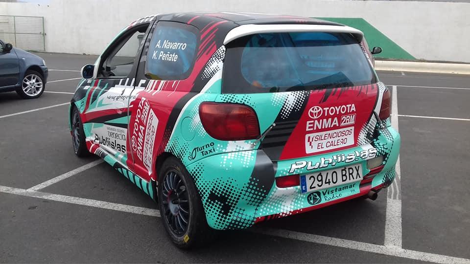 📢 Acorán Navarro regresa a la competición con el Rallye satauteño