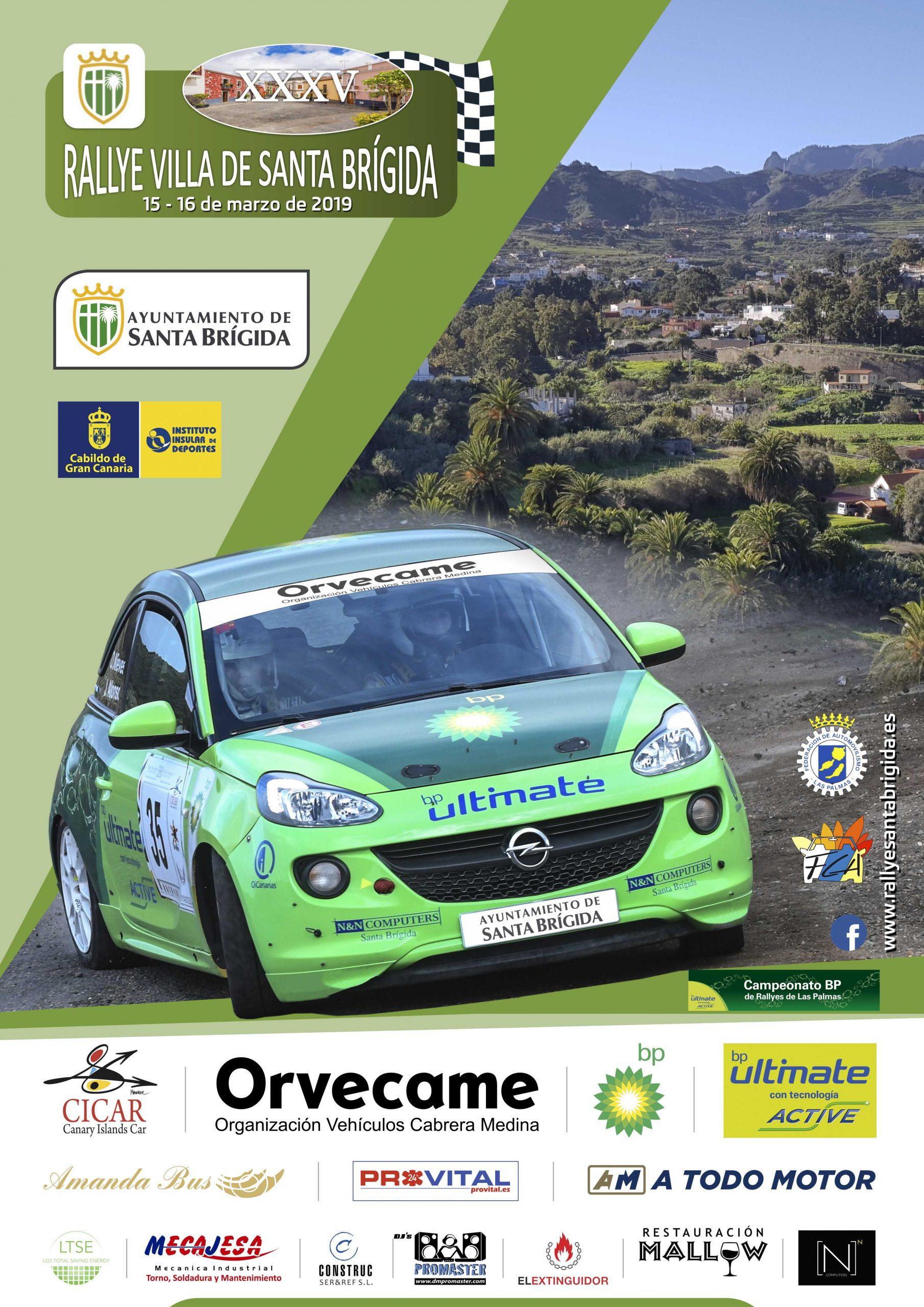 📢 Este viernes concluye el plazo para inscribirse en el XXXV  Rallye Villa de Santa Brígida