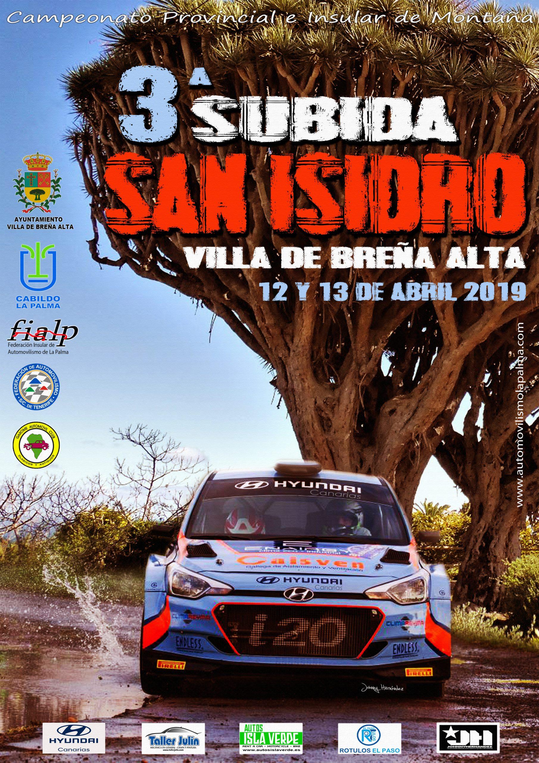📌 Cartel oficial y comunicado 3º Subida San Isidro