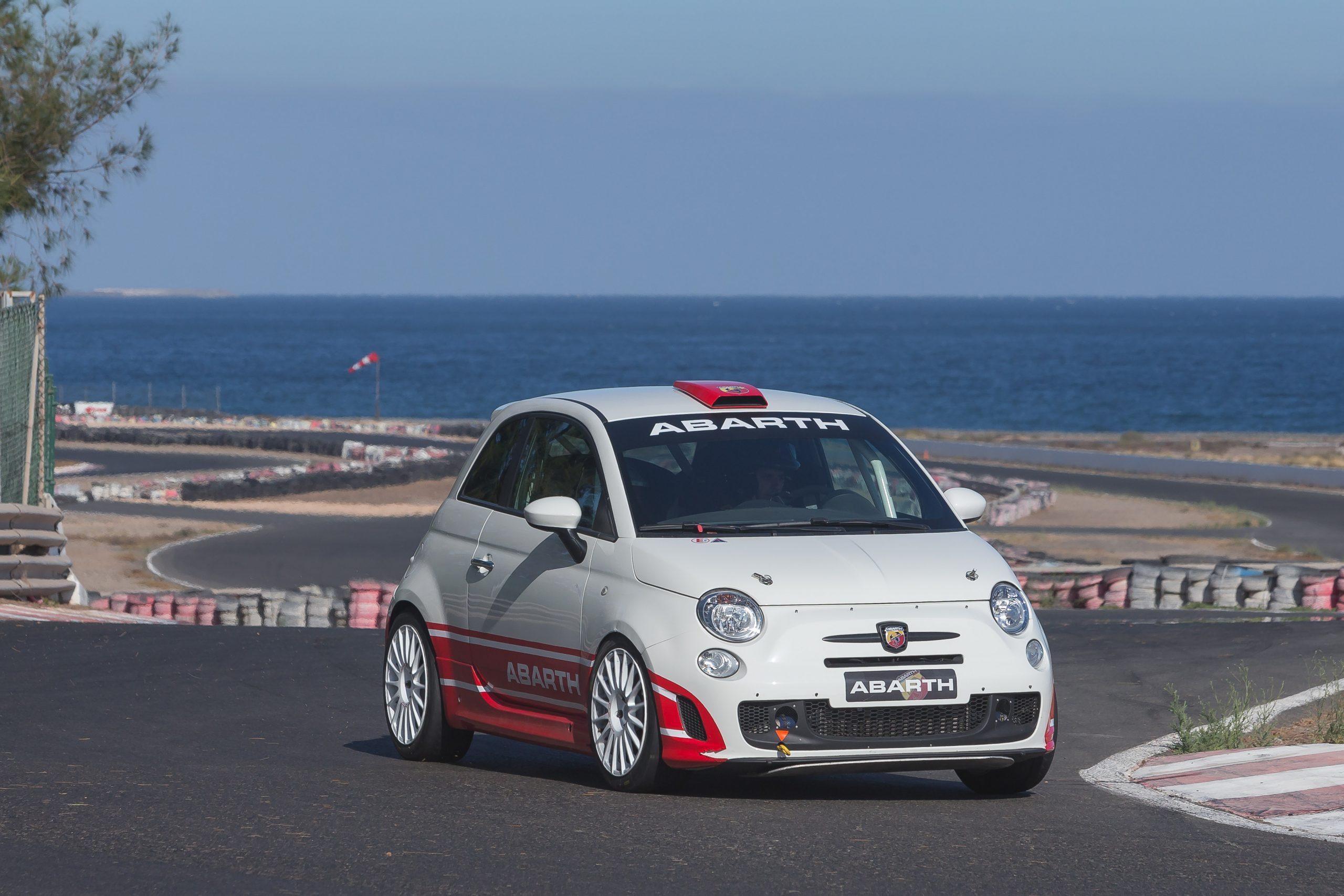 📢 Domingo Ramos y José Ángel Batista estrenan el Abarth  500 R3T en el Rallye Villa de Santa Brígida