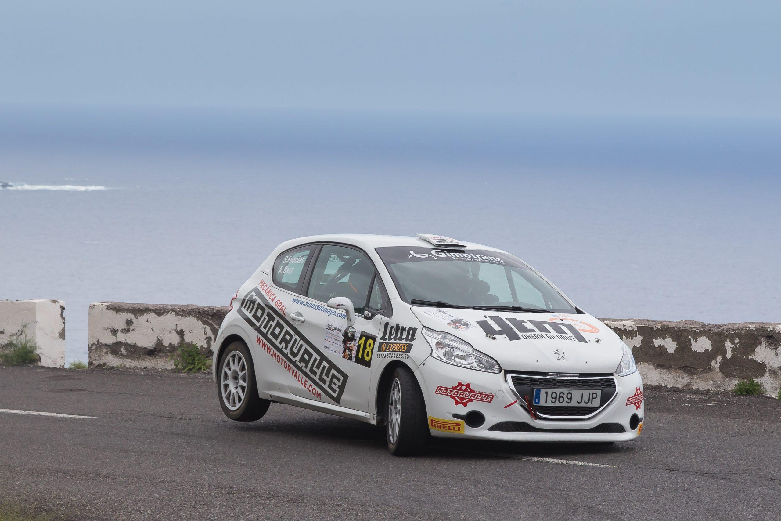 📢 Positiva participación de Sergio Fuentes y Abraham Báez  en el Rallye Norte