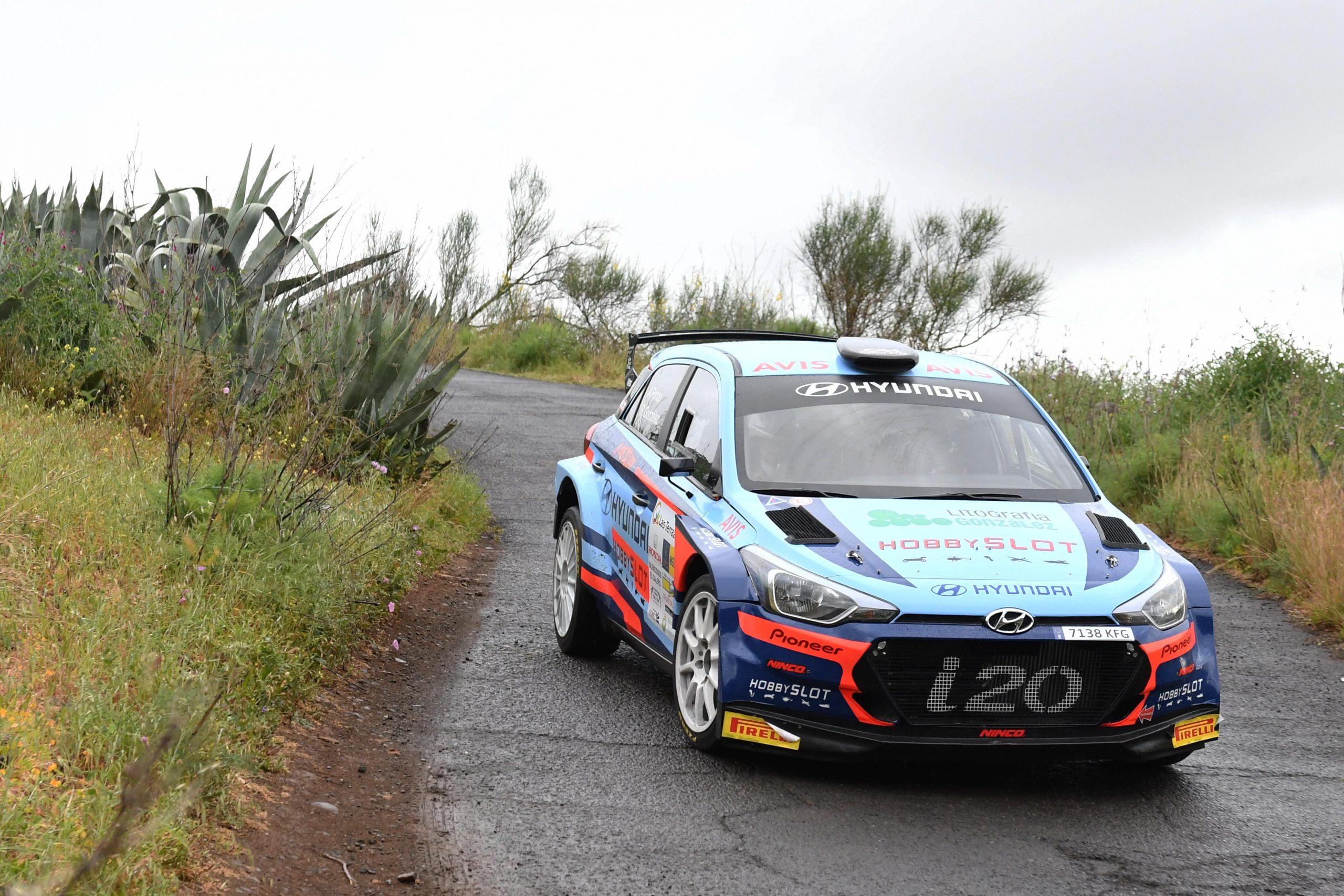 📢 Los hermanos Ponce parten como favoritos para llevarse el triunfo en el XXXV Rallye Villa de Santa Brígida