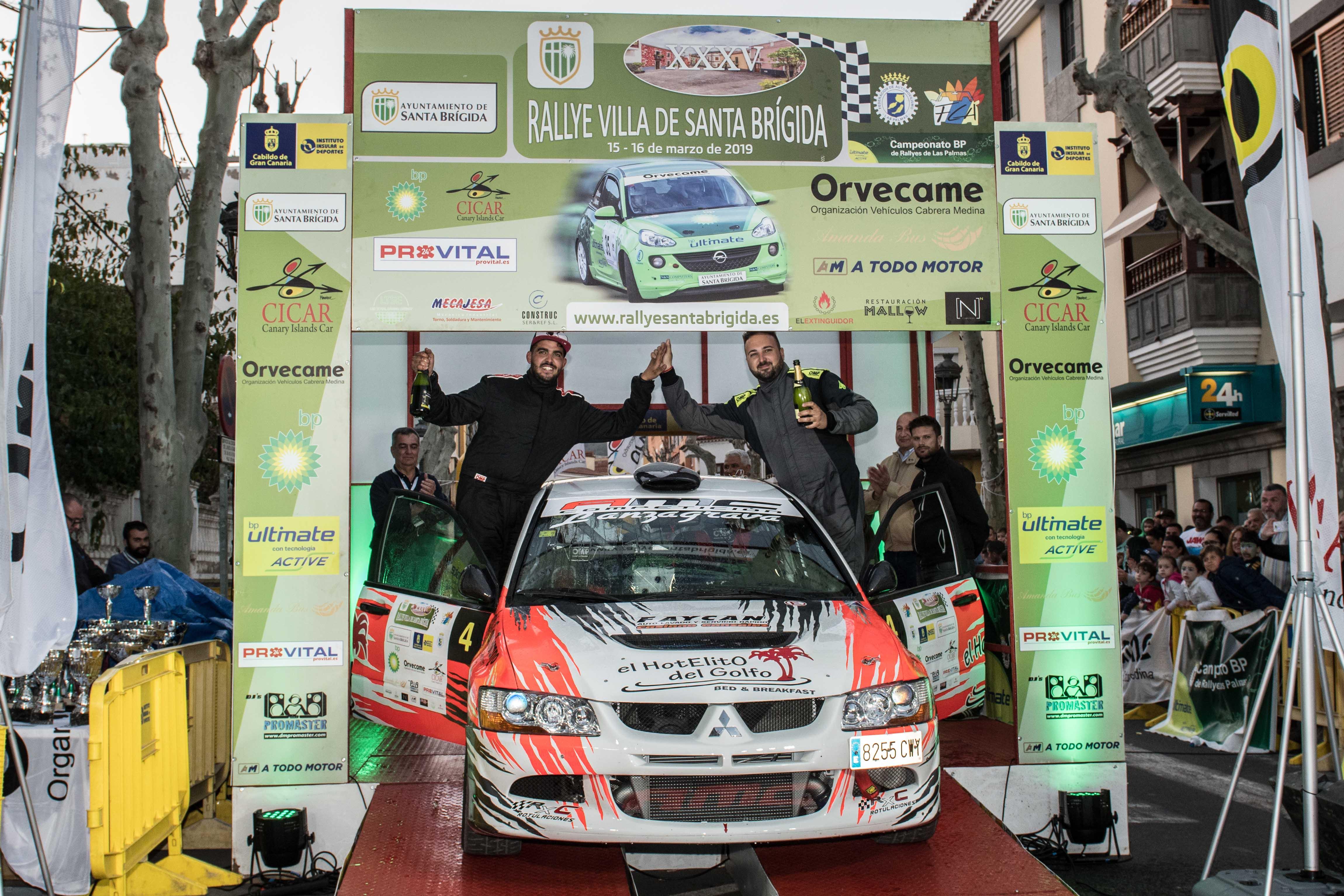 📢 Aníbal Machín-Jorge Cedrés, dominio de principio a fin en  el XXXV Rallye Villa de Santa Brígida
