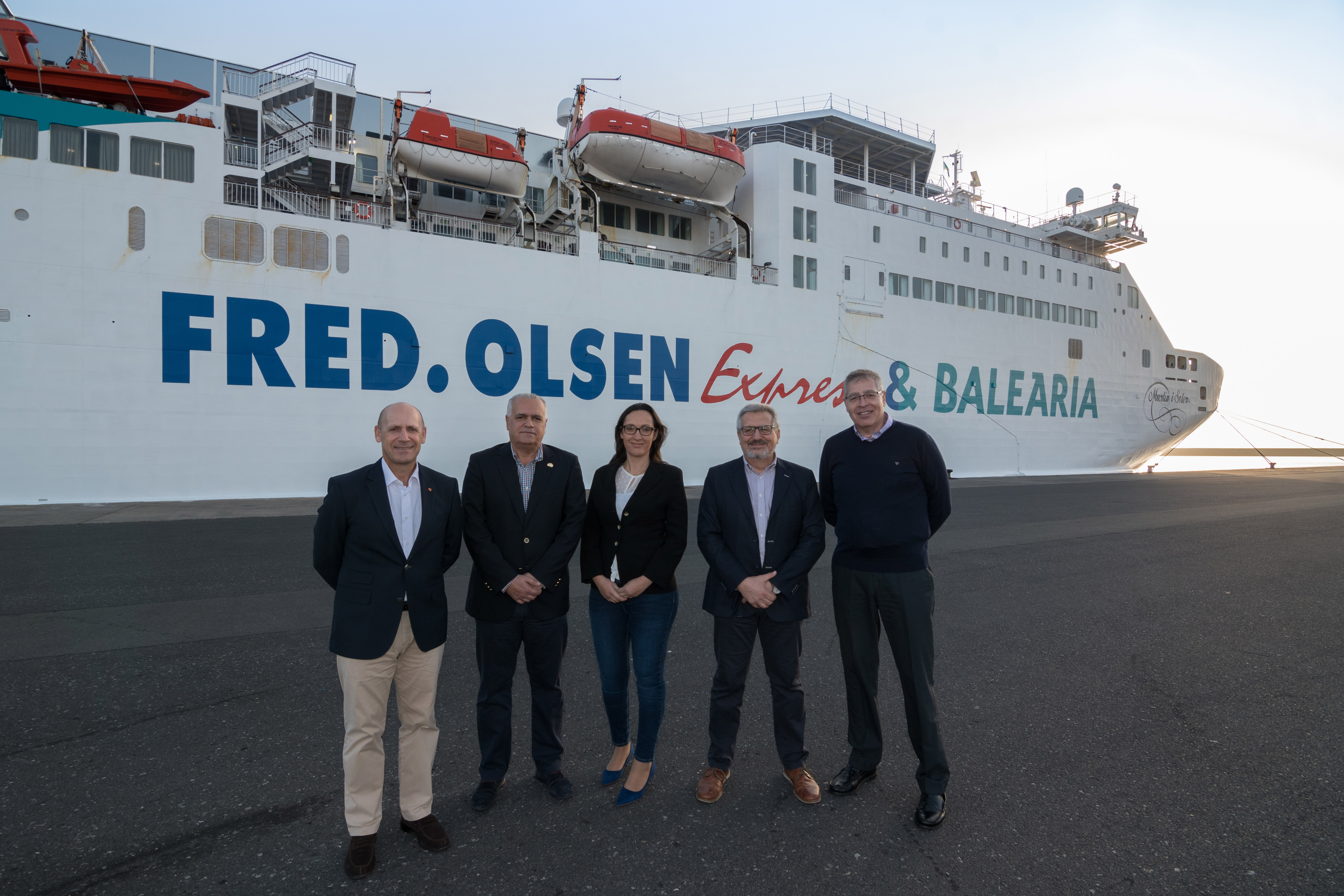 📢 Fred. Olsen & Baleària, naviera oficial del Rally Islas Canarias