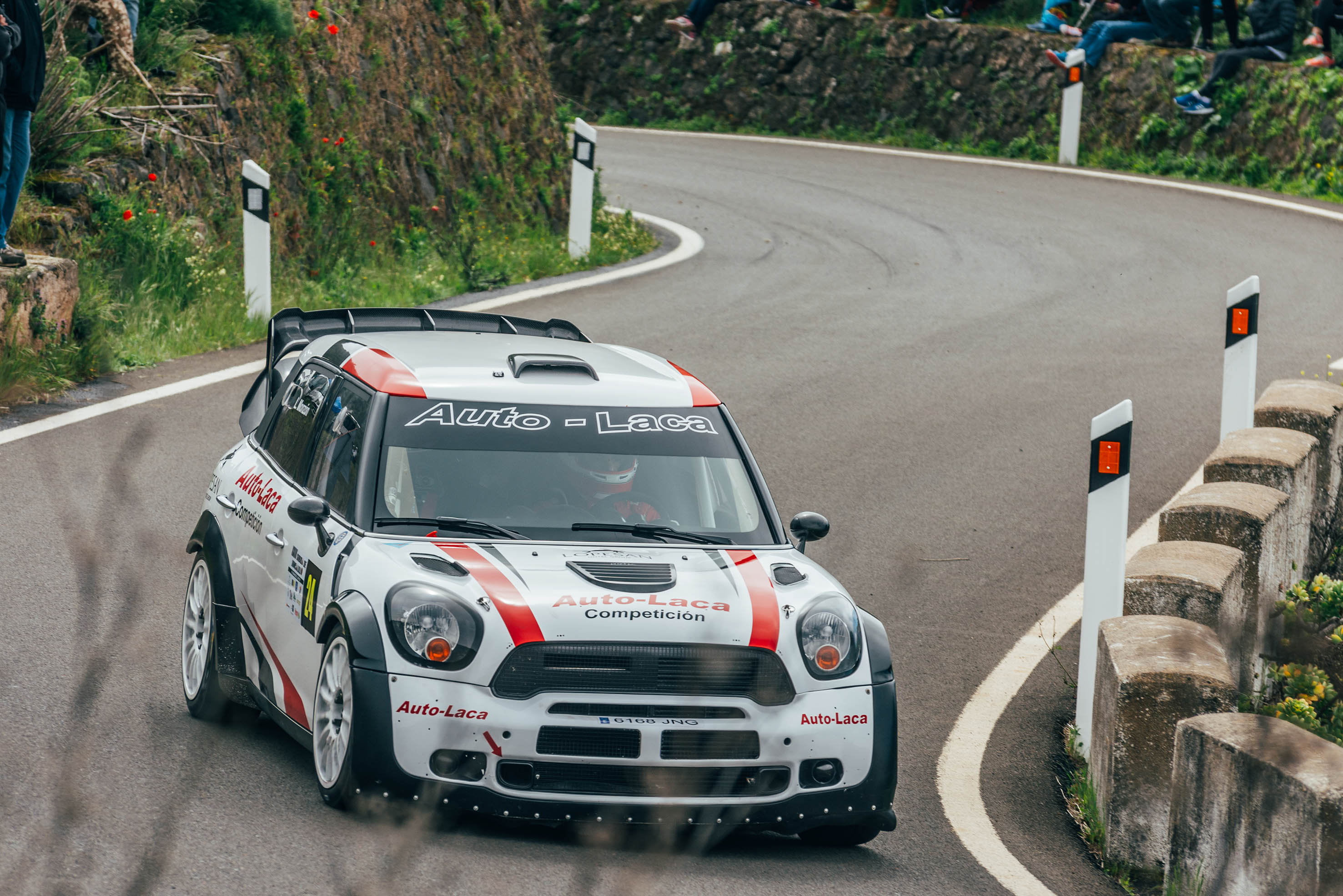 📢 Luis Monzón y su MINI JCW WRC empiezan liderando el  Campeonato de Las Palmas de Montaña