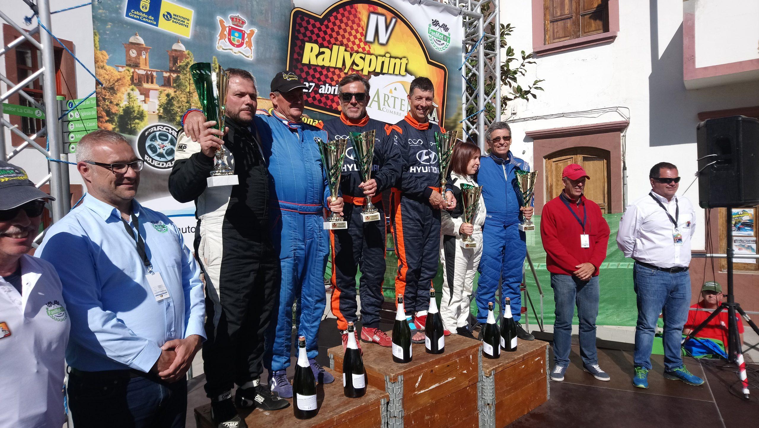📢Dominio total de Toñi Ponce y Rubén González con el 🚗Hyundai i20 R5
