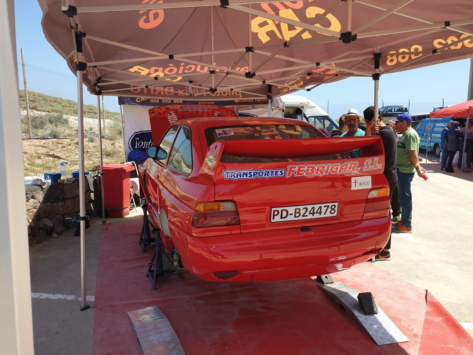 📢 Félix Brito, finaliza octavo en la 🏁 Subida de Arico con 🚗 Ford Escort WRC