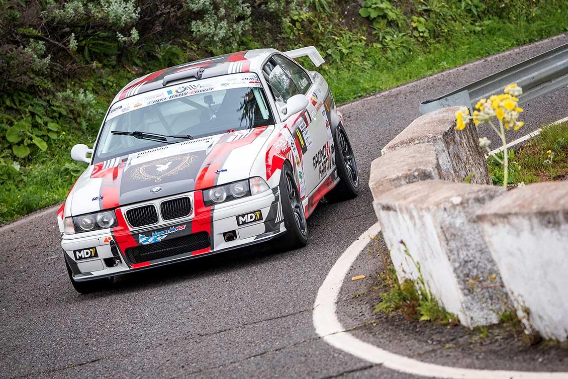 """📢 Cristian Alemán – BMW M3 (E36) 👉 """"Me hace mucha ilusión competir en Tejeda"""""""