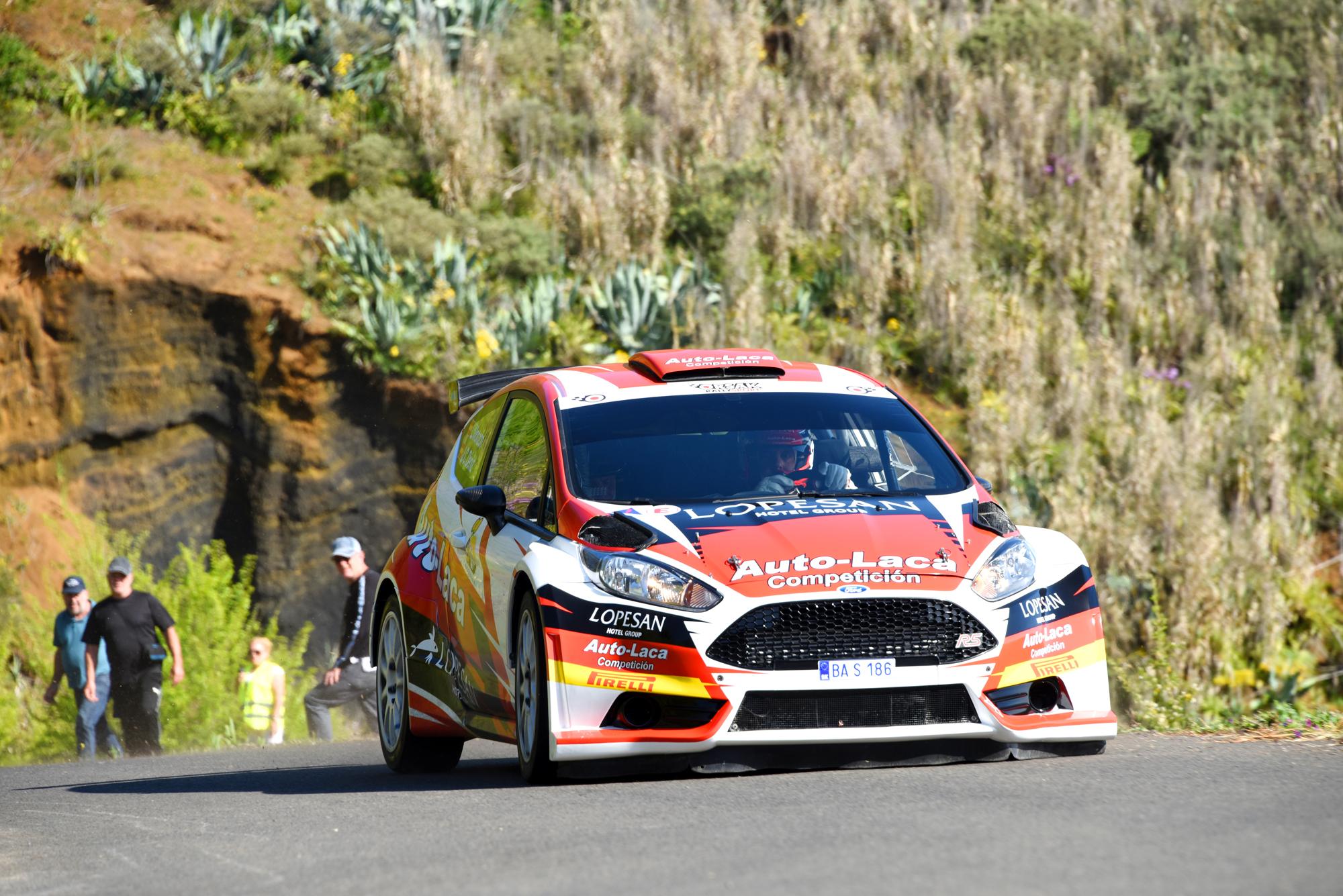 📢 Monzón y Déniz, con la ilusión de unos debutantes en el 🏁 Rally Islas Canarias