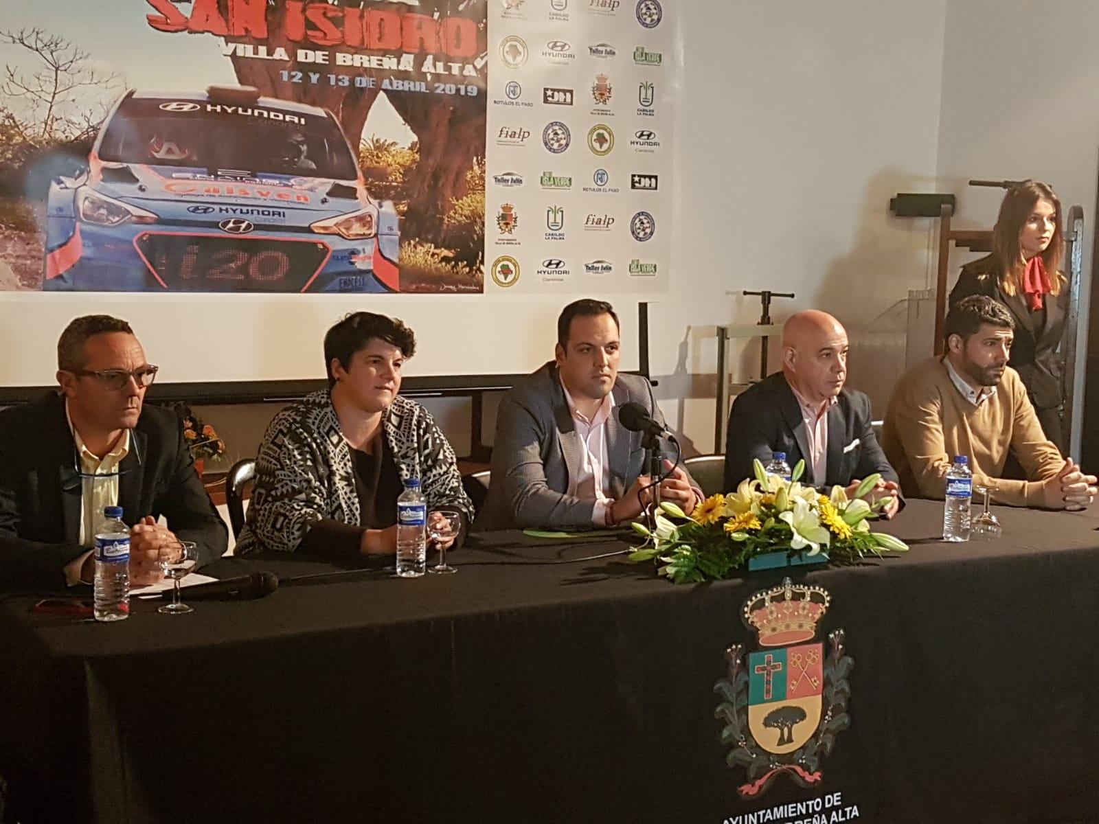 📢 Presentación de la 3º Subida a San Isidro Villa de Breña Alta, La Palma