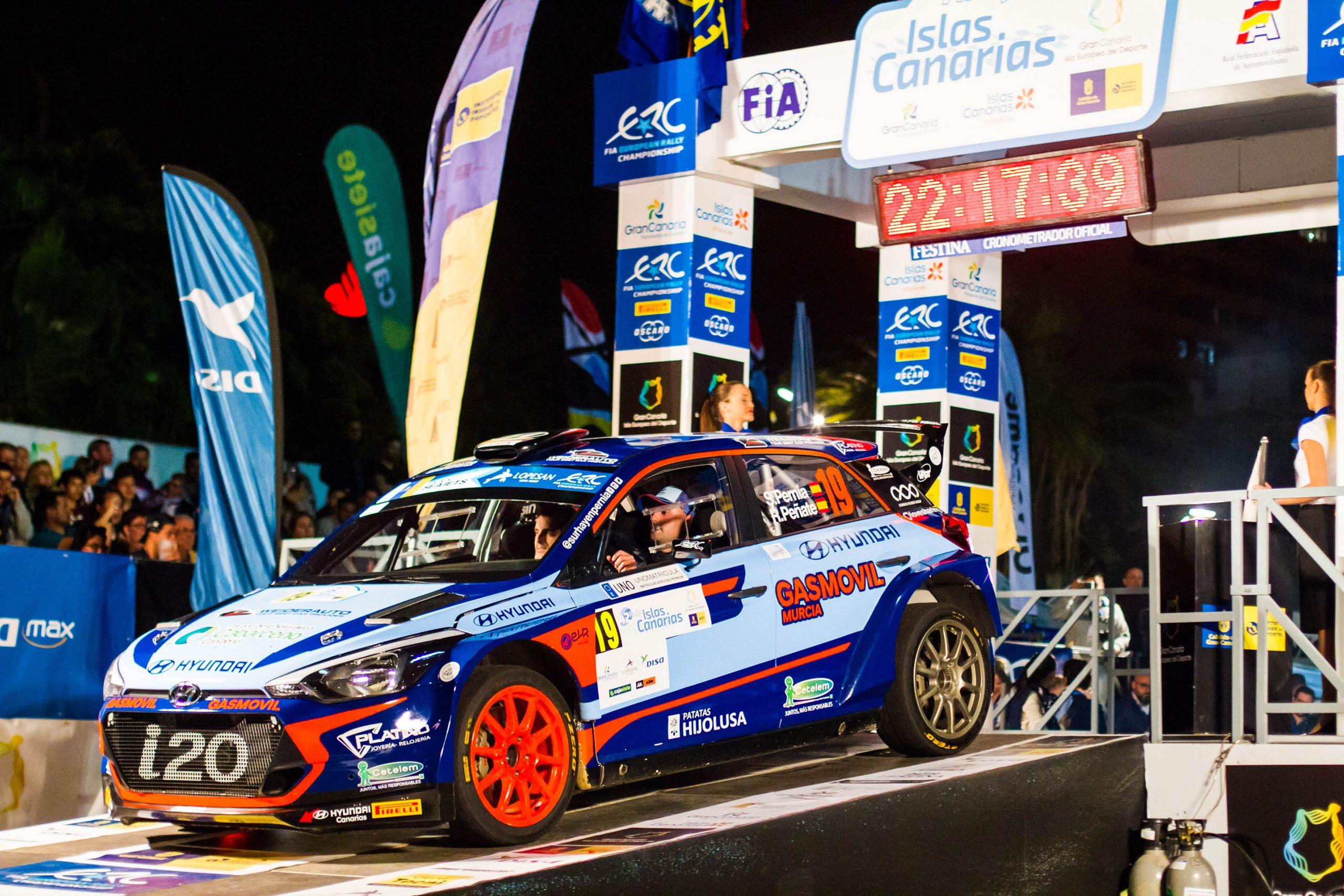 🏁 El Rally Islas Canarias roza los 120 equipos en su edición número 43