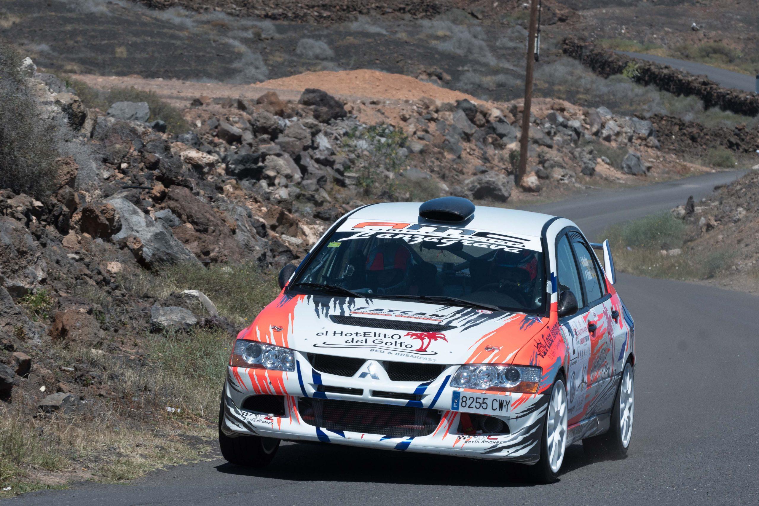 📢 Vibrante triunfo de Aníbal Machín y Pedro Viera en el IV Rallye Tías – Yaiza 'Trofeo Lanzarote Karting San  Bartolomé'