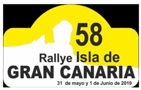 📌AVANCE 🏁58º RALLYE ISLA DE GRAN CANARIA 📅31 de mayo y 1 de junio 2019 📢 Rutómetro renovado y salida desde el C.C. Los Alisios