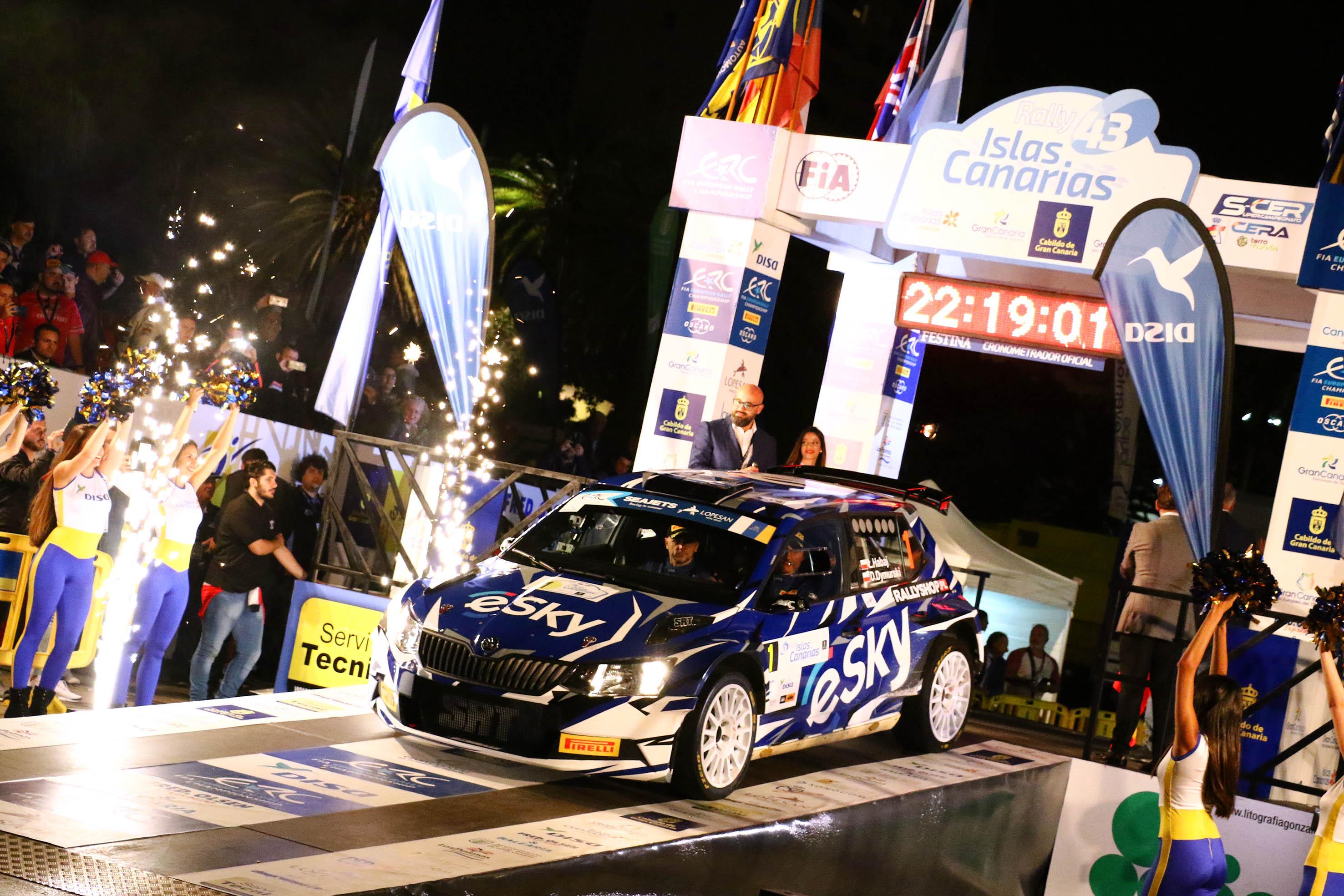 📢 Lanzada la edición número 🏁43º del Rally Islas Canarias desde el Parque Santa Catalina