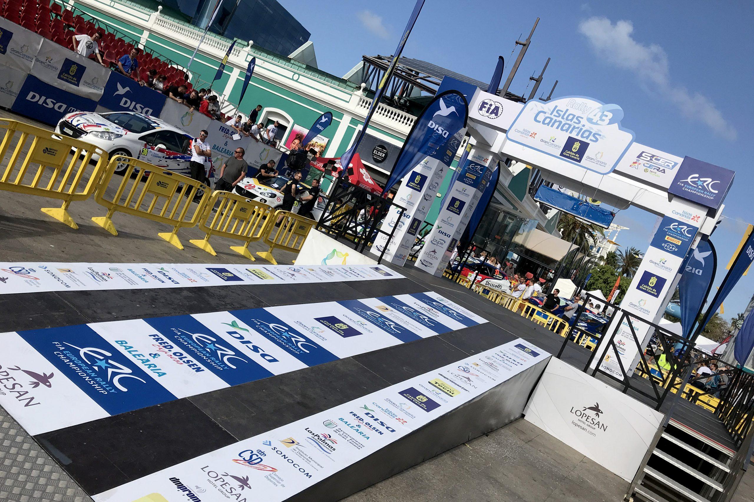 Llega la hora de la verdad para los equipos del Rally Islas Canarias Listas de inscritos Qualifying Stage y el Shakedown