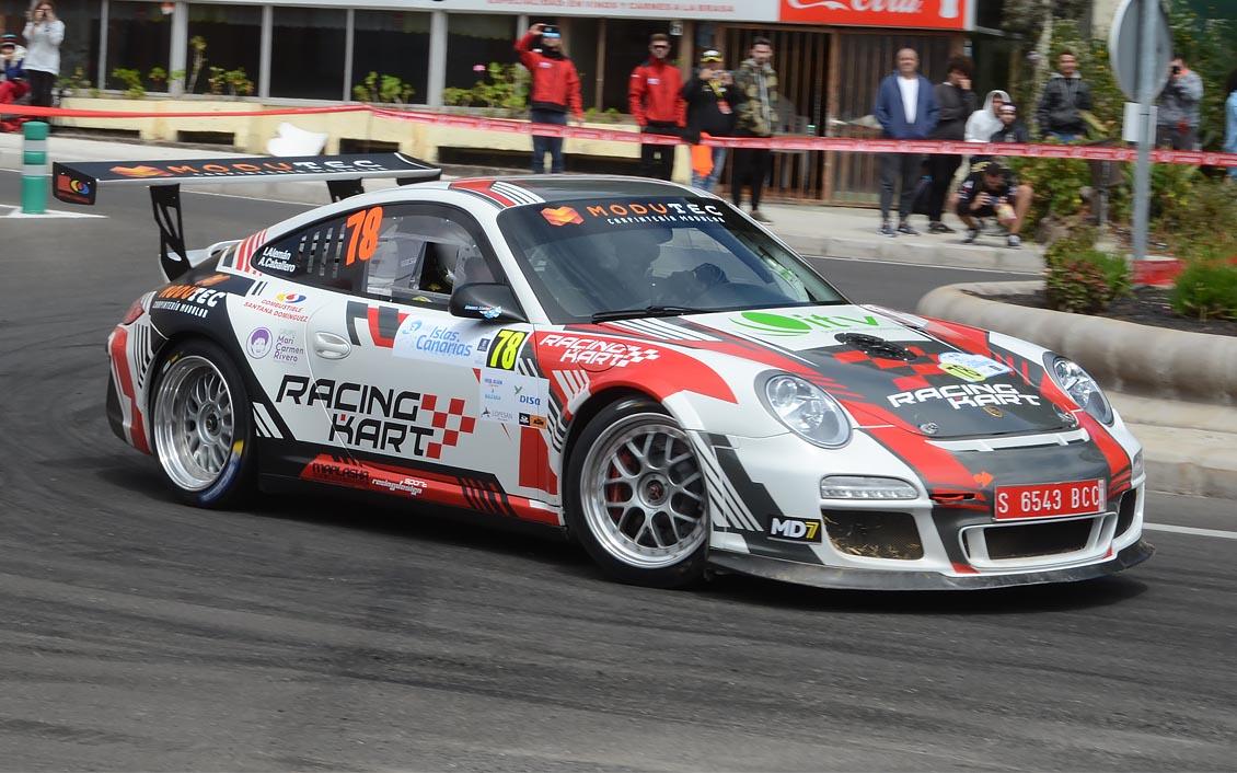 """📢 Iván Alemán 🚗 Porsche 911 GT3 👉  """"Hemos conseguido lo que queríamos"""" en el 🏁 Rally Islas Canarias"""