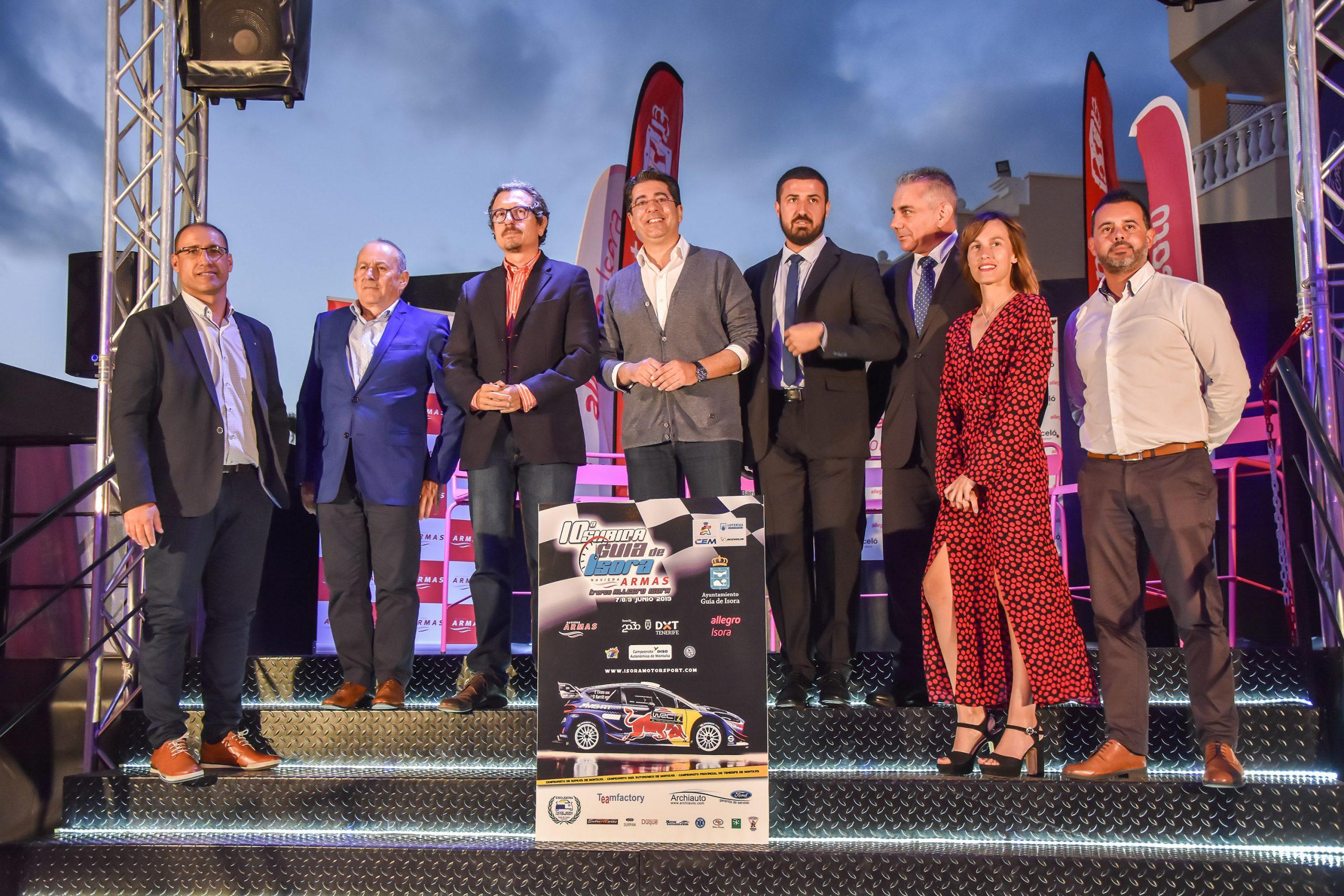📢 Presentada la 🏁10ª Subida Guía de Isora Naviera Armas 'Trofeo Allegro Isora'.