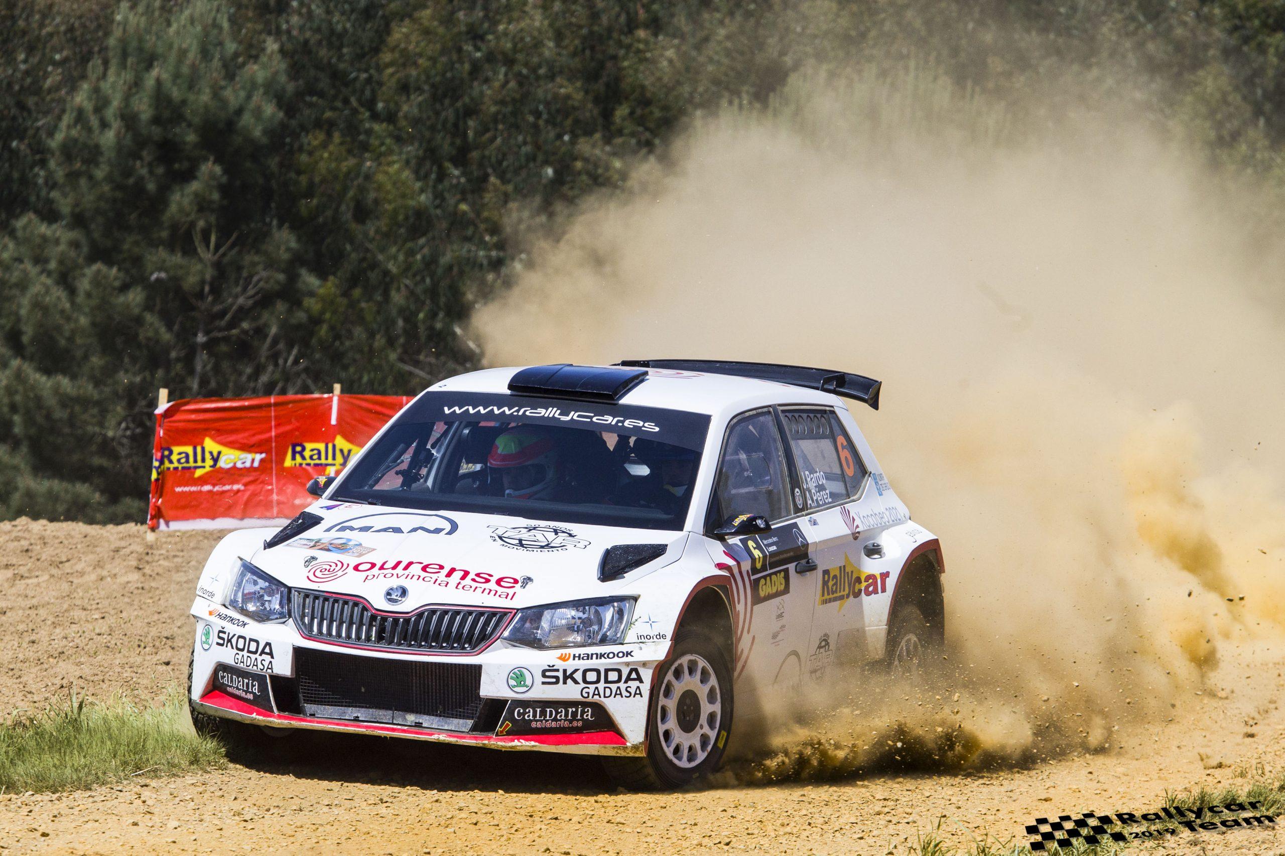 📢 Javier Pardo y Adrián Pérez se suben de nuevo al podium en 🏁El Rallye Terra da Auga