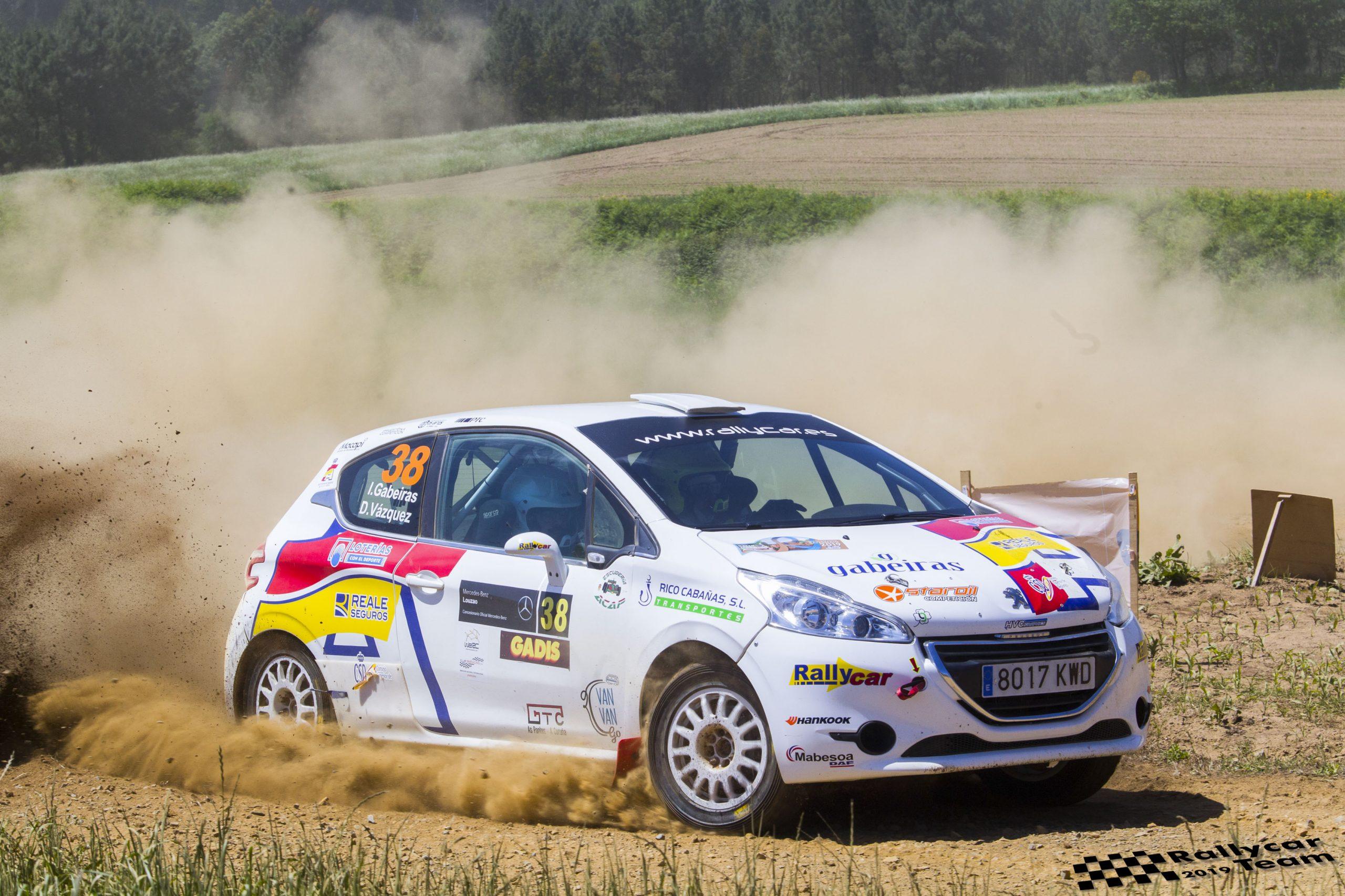 📢 Rallye difícil para Iago Gabeiras y Diego Vázquez en Terra da Auga