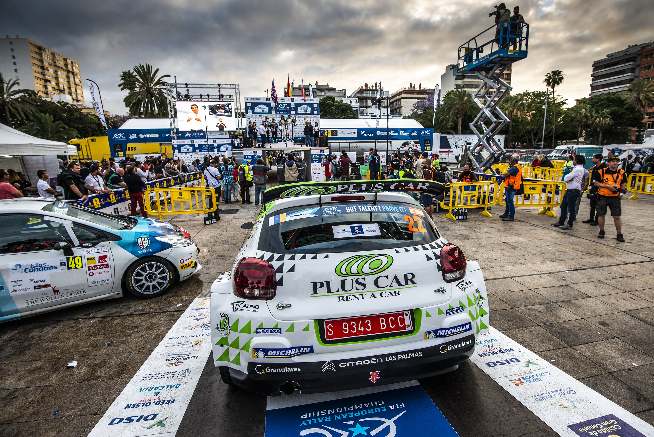 📢 Emma Falcón, satisfecha de su participación en el 🏁 Rally Islas Canarias