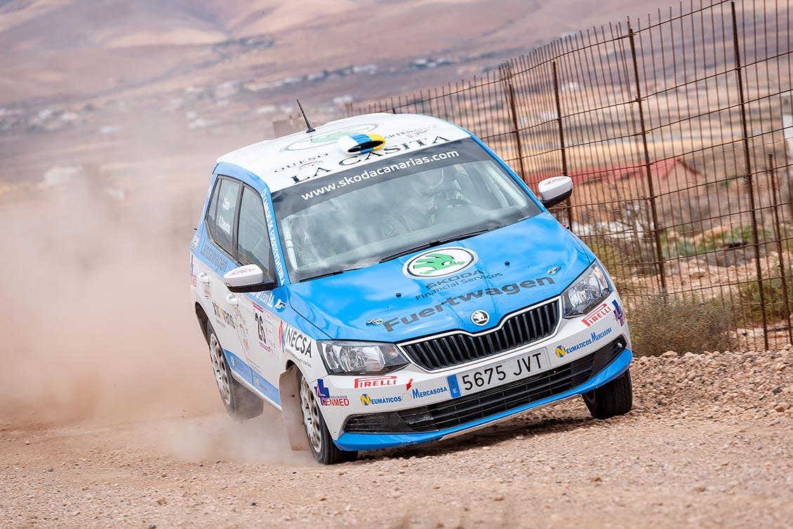 📢 Clara victoria en Fuerteventura, 🏁 Rally Puerto del Rosario de Javier Sosa y Kilian Camacho