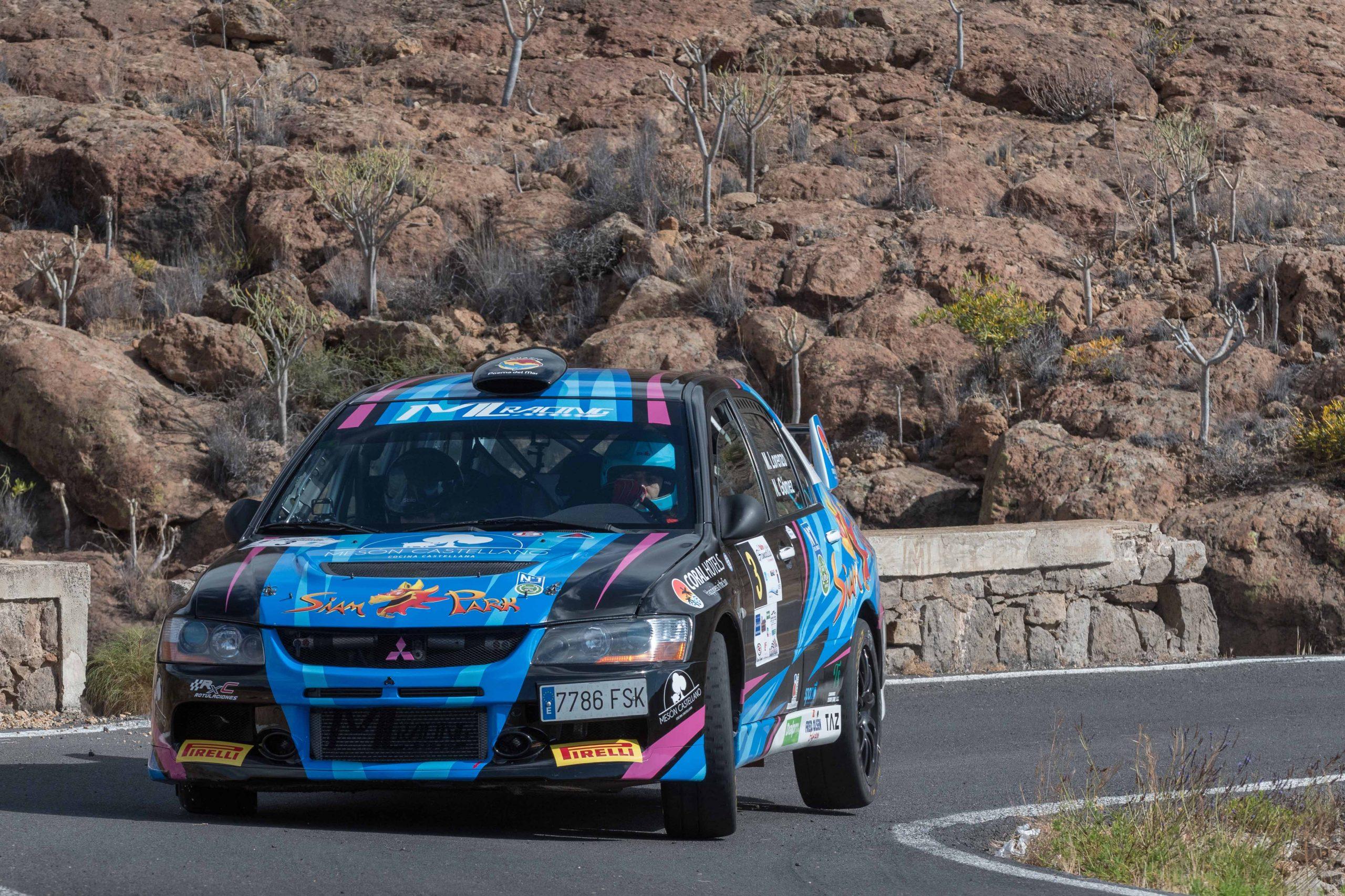 🚗💨 Los puntos de la quinta posición, el premio de  Lorenzo-Gómez en Granadilla