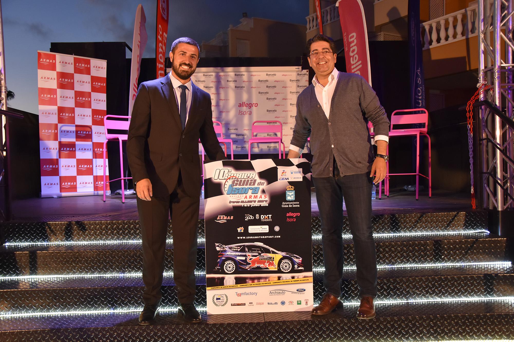 📢Más de 🚗70 equipos en la 🏁Subida Guía de Isora Naviera Armas 'Trofeo Allegro Isora'.