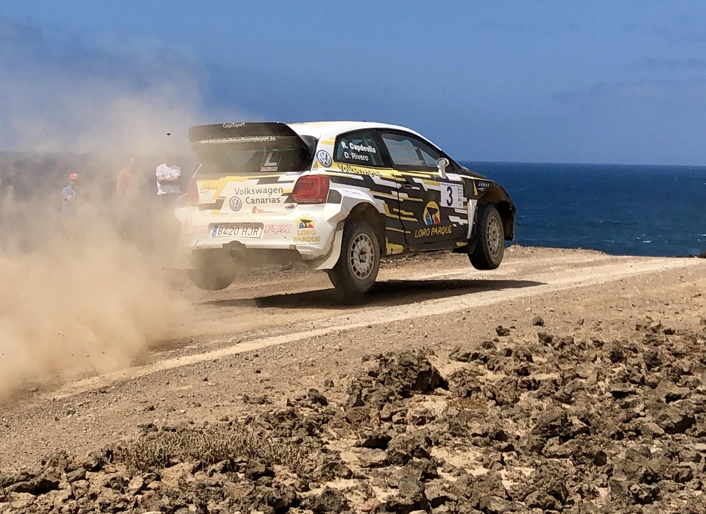 🚗💨 Raul Capdevila y David Rivero (Polo N1) cumplieron su objetivo en Lanzarote