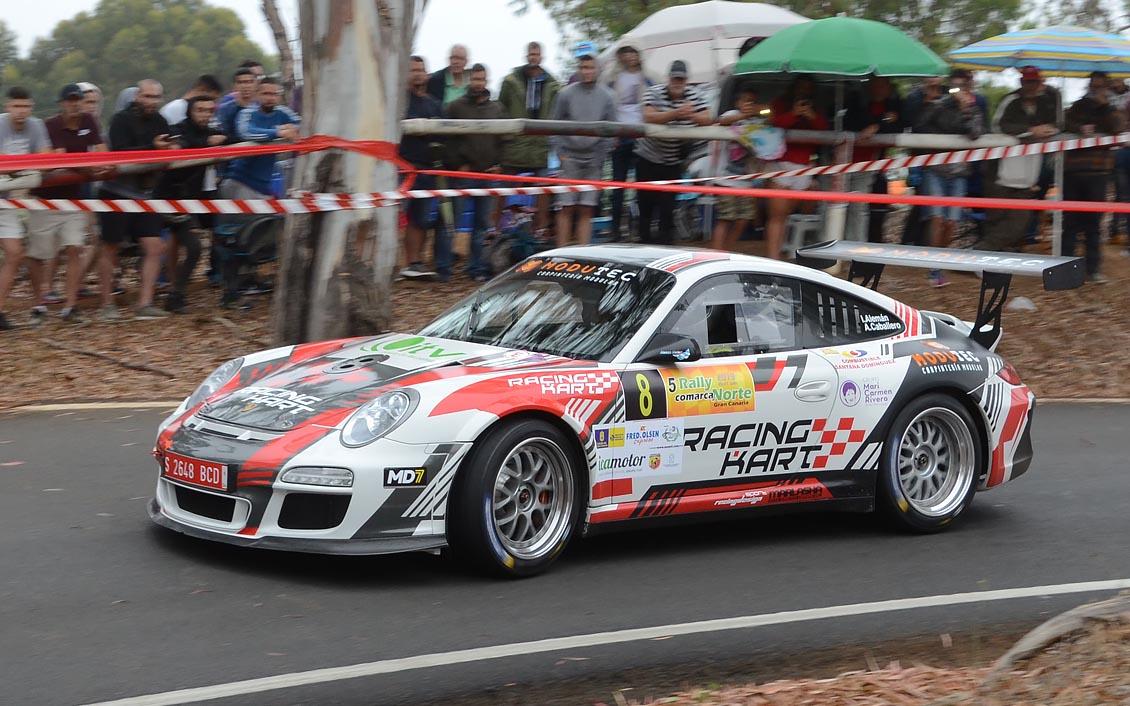 """🚗💨 Iván Alemán – Porsche 911 GT3 👉""""Vamos por el camino correcto"""""""