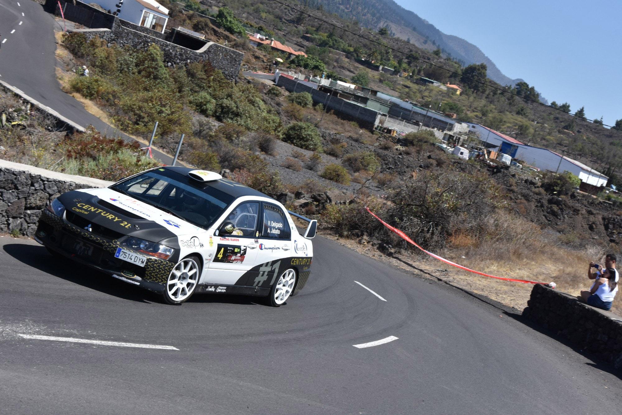 🚗💨 Tercera posición para Víctor Delgado en el Senderos de La Palma.