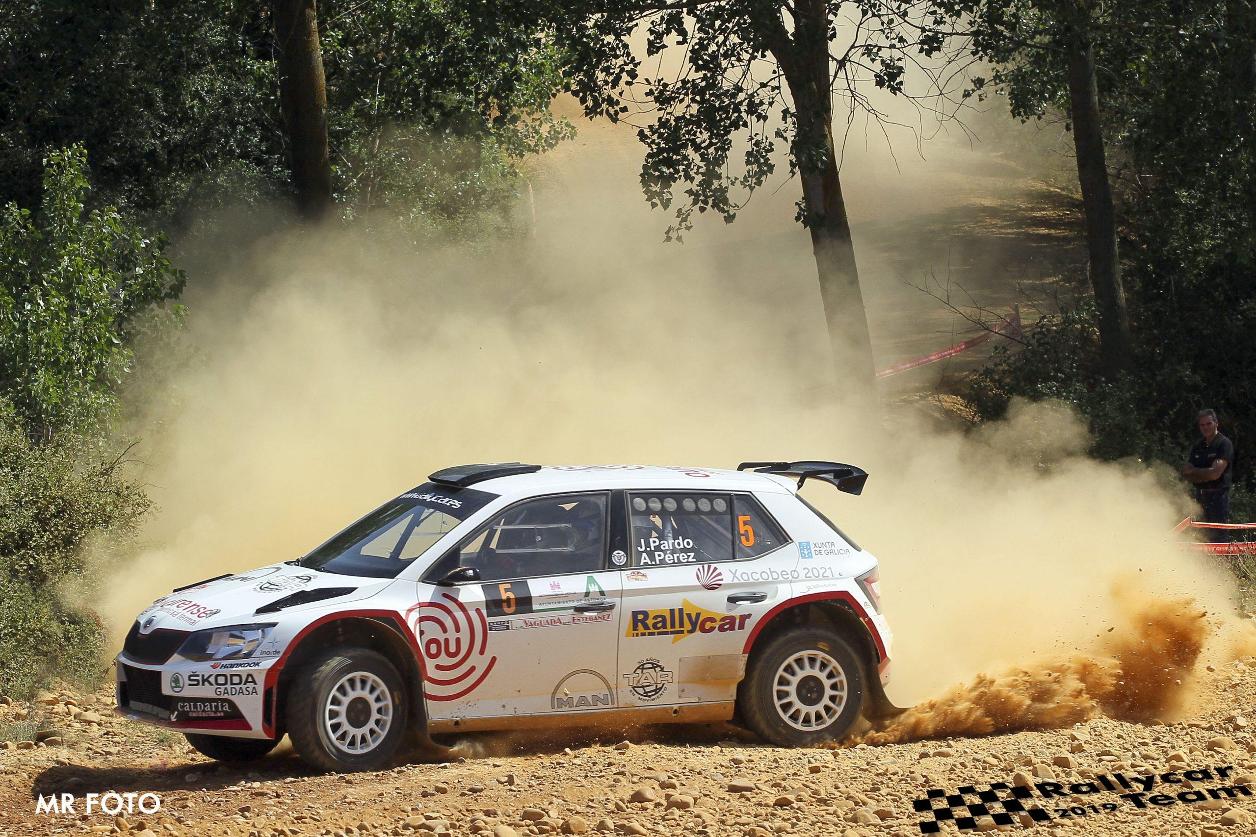 🚗💨 Nuevo pódium para Javier Pardo  y Adrián Pérez en el 🏁 Rallye Ciudad de Astorga, quinta prueba del Campeonato de España de Rallyes de Tierra (CERT) 2019, también puntuable para el S-CER.