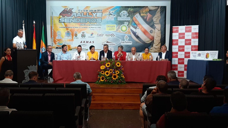 📌 Presentado el 🏁 46º Rally Senderos de La Palma