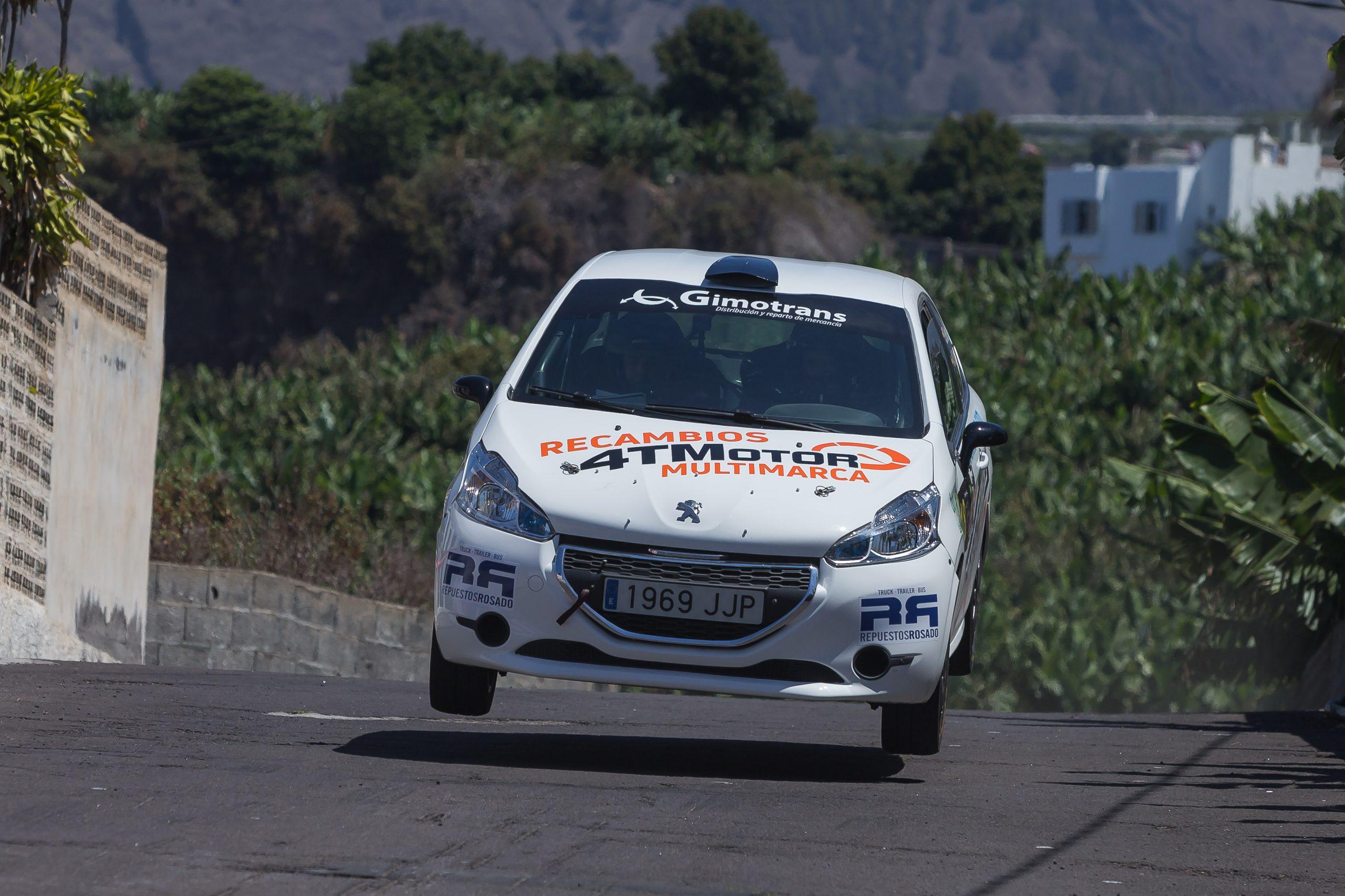 🚗💨 El tinerfeño Sergio Fuentes, ante su tercer rallye en dos semanas