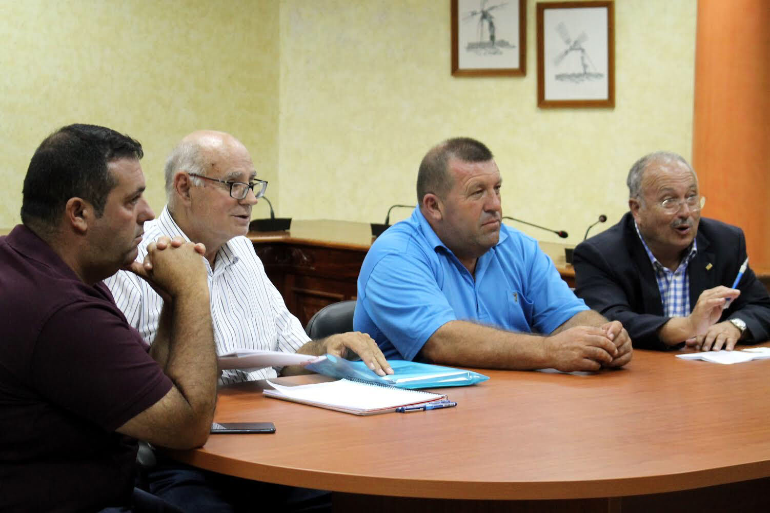 🚗💨 Miguel Ángel Toledo, presidente de la FALP, se desplazó a Fuerteventura para atender su situación actual
