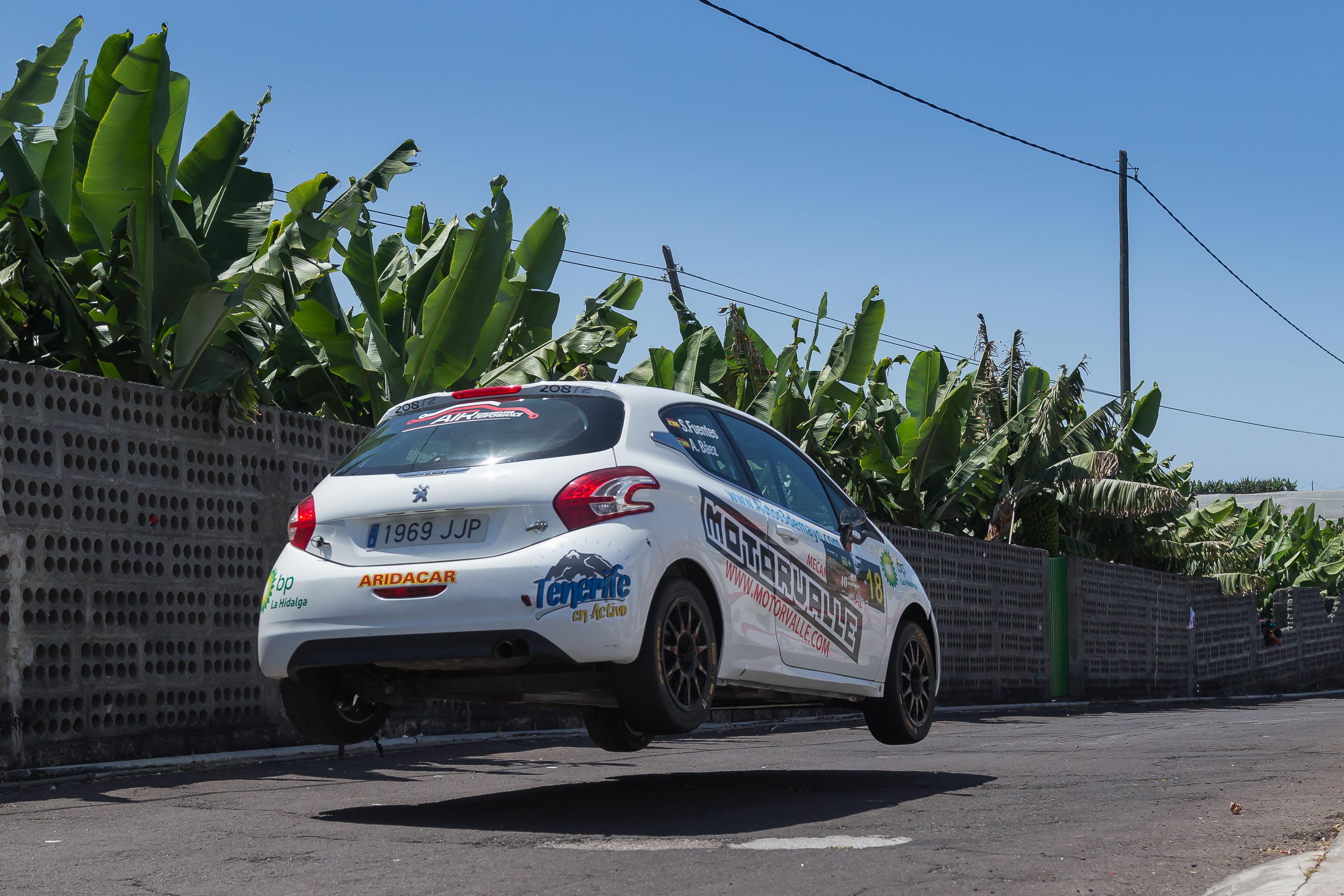 🚗💨 Doble triunfo de Sergio Fuentes y Abraham Báez en el 🏁 Rallye Senderos de La Palma