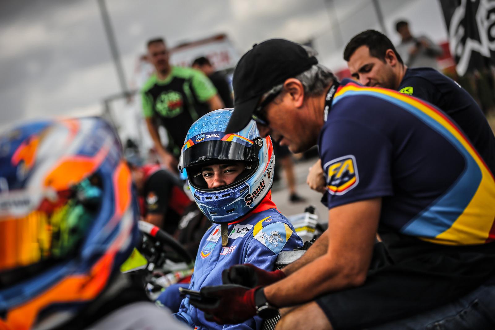 🏎 Instalado en el top ten del CEK, Santi Concepción Jr compite este fin de semana en  Campillos