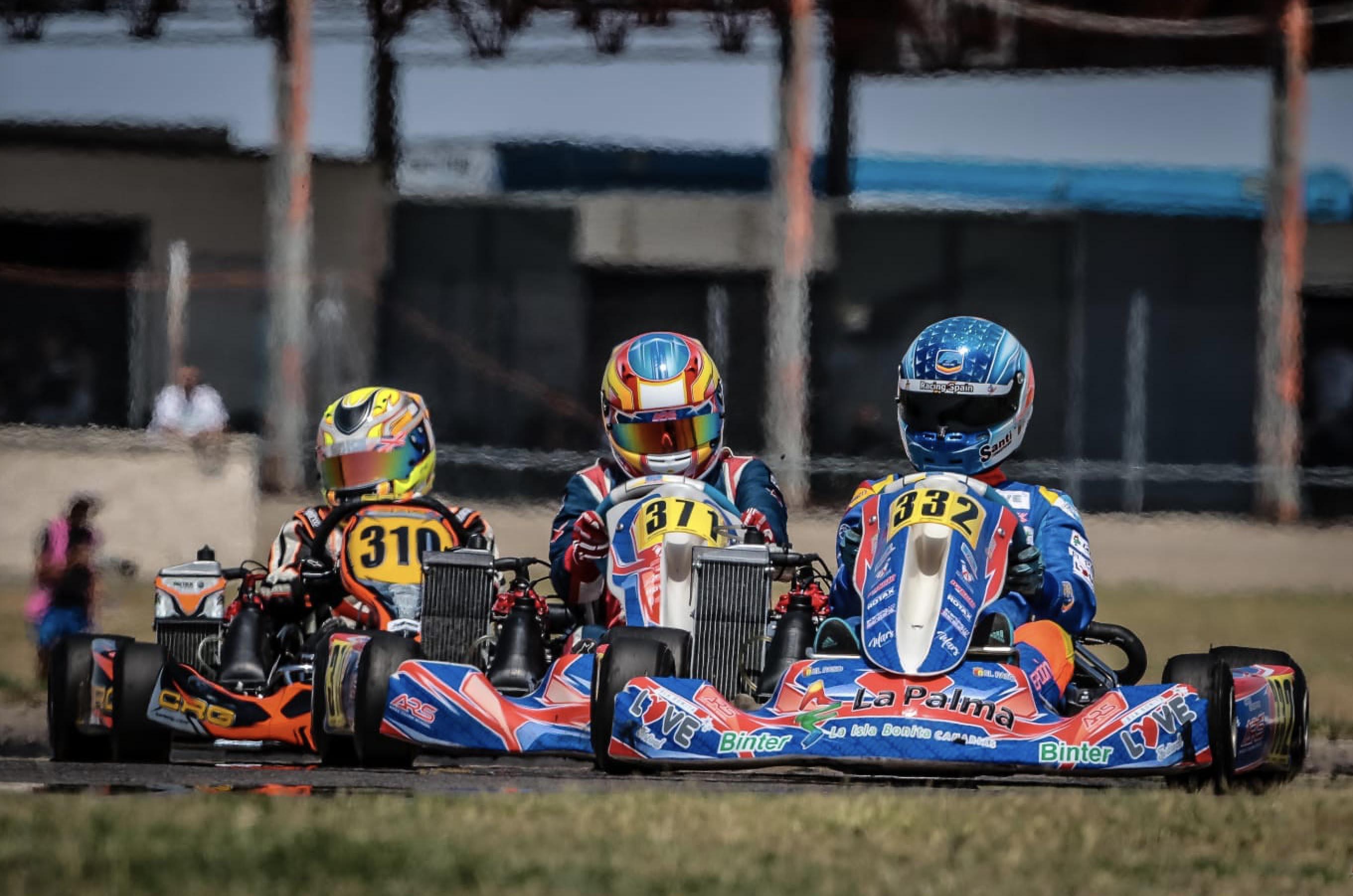 🏎 Santi Concepción Jr firmó la sexta posición en la final Rotax celebrada en Zuera