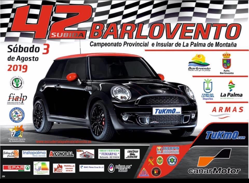 🚗💨José Manuel González y Nauzet Brito, los más rápidos de la 🏁 42 Subida a Barlovento