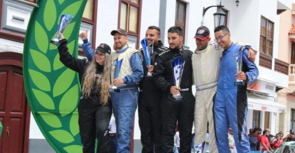 🚗💨 Jorge Rodríguez y Antonio Sánchez llegan al 🏁 Rallye Isla Bonita como líderes de los campeonatos palmeros