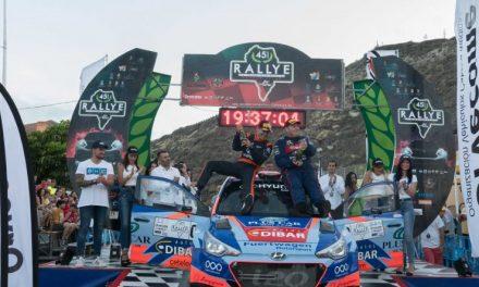 📢 Yeray Lemes-Rogelio Peñate logran la victoria en el 🏁 45 Rallye La Palma Isla Bonita – Trofeo CICAR