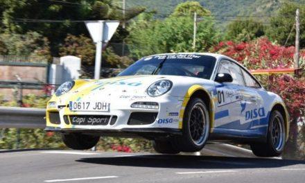 📢 Un pinchazo en el penúltimo tramo deja sin victoria al equipo 🚗💨 DISA Copi Sport en el 🏁 45º Rallye Isla Bonita.