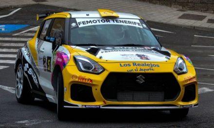 📢 Manuel Mesa y Víctor Pérez satisfechos con su cuarta posición en el 🏁 45º Rallye Isla Bonita, La Palma