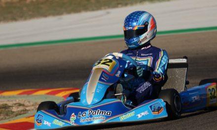 🏎Santi Concepción Jr despide el 🏁 Campeonato de España de Karting en la pista de Zuera