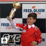 📢 PRIMERA VICTORIA PARA ADONAY CRESPO GUERRA 🏎 Karting