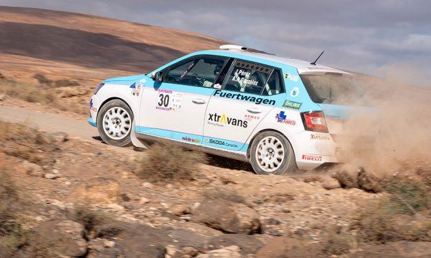 📢La Copa Škoda Fabia retoma la tierra en Lanzarote