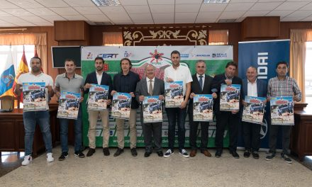 Presentado el 🏁XXII Rallye Isla de Los Volcanes en la sede del Cabildo de Lanzarote