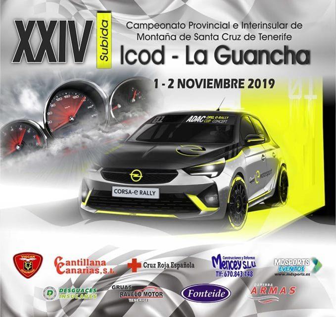 Puesta de largo de la 24º Edición de la Subida Icod La Guancha