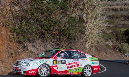🚗💨 El Skoda Octavia Kit Car de Raúl Quesada y Dani Sosa estará en la salida del 🏁Rallye de Maspalomas