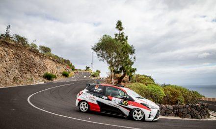 Padaman Sport con suerte dispar en el 🏁 45º Rally Isla de Tenerife.